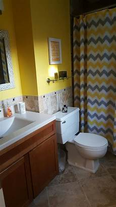 Bathroom Decor Ideas Yellow by Yellow And Gray Bathroom Bathroom Ideas Yellow