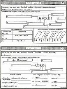 place value to millions task cards worksheets by