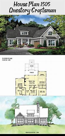 don gardner house plans house plan 1505 one story craftsman don gardner house