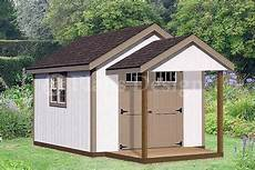 12 16 shed with porch pool house plans p81216 free material list 163 16 82 picclick uk