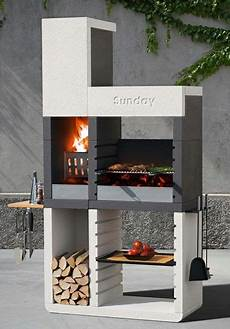 barbecue fixe moderne le barbecue grill sunday one de design moderne par