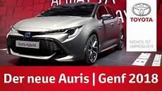 Der Neue Toyota Auris Genfer Automobilsalon 2018