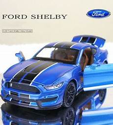 Blue 1 32 Ford Mustang Shelby Gt350 Diecast Model With