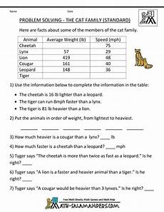 math word problem worksheets 3rd grade 11095 free worksheets from math salamanders math words math word problems math worksheets