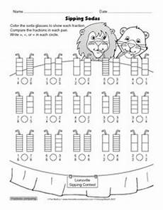 comparing fractions worksheets for grade 6 4261 comparing numerators and denominators freebie 4th grade math worksheets math fractions