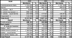 bilan de societe memoire analyse sectorielle et diagnostic interne