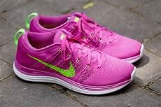 nike wmns flyknit lunar1 club pink electric green sneakernews com