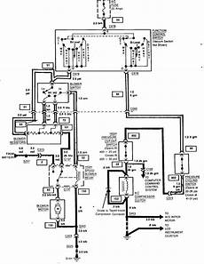 1984 corvette wiring diagram 1984 corvette on the inside the climate cold defrost everything works but the fan