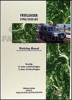 free online car repair manuals download 2000 land rover discovery series ii user handbook 1998 2000 land rover freelander repair shop manual reprint