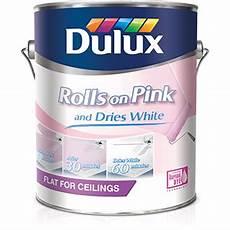 dulux dulux rolls pink ceiling paint