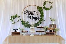 don t miss this lovely rustic baptism the dessert table