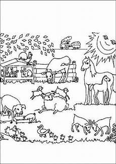 Ausmalbilder Zu Bauernhof Bauernhof Ausmalbilder 10 Ausmalbilder