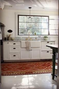 kitchen no cabinets backsplash idea