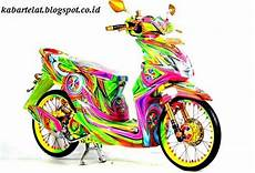 Modifikasi Beat Fi Velg 14 by Gambar Modifikasi Motor Honda Beat Fi Velg 17 Velg 14