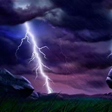 cg fantasy storm lightning strikes twice ipad iphone