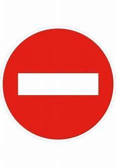 sens interdit panneau panneau sens interdit b1 sur www aua signaletique