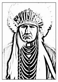 Gratis Malvorlagen Indianer American Indian American Coloring Pages