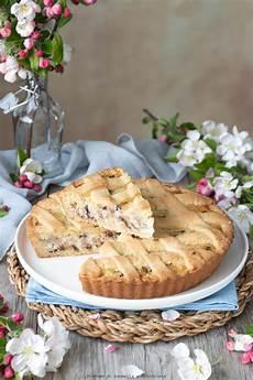 crostata crema pasticcera e grano di pasqua fatto in casa da benedetta rossi ricetta nel crostata ricotta e grano cotto profumo di cannella e cioccolato