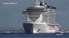 porto piu grande d italia a bordo della nave da crociera pi 249 grande d italia la msc