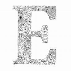 Ausmalbilder Buchstaben A Buchstaben Zum Ausmalen Und Dekorieren 95 Florale Motive