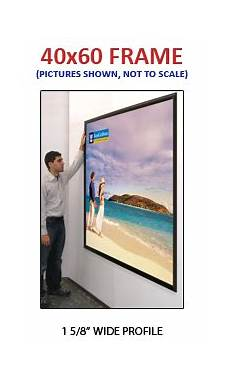 large 40x60 poster snap frames 1 5 8 quot mitered