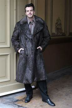 levy co kadewe berlin herren pelz mantel fur coat braun