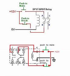 wiring diagram for a latching relay wiring an help with my practice a common relay as latching relay electrical engineering