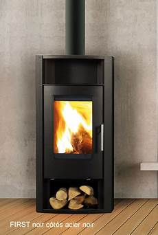 poele a bois de qualité poele a bois noir c 244 t 233 s acier gris cheminee viano