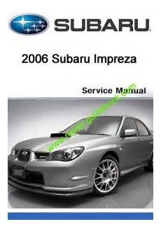 manual repair autos 1994 subaru impreza electronic valve timing 2006 subaru impreza workshop factory service repair manual online repair manuals