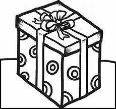 printable present coloring page for 1