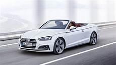 2017 Audi A5 Convertible Top Speed
