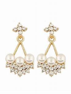 jual beli aksesoris anting hanging pearl korean fashion