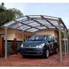 carport alu günstig carport en aluminium 1 voiture de 18 17m 178 arcadia