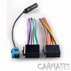 Car Cd Audio Stereo Wiring Harnes Antenna Adapter For Nissan by Car Radio Stereo Cd Player Wiring Harness For Vw Radio