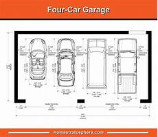 standard garage dimensions for 1 2 3 and 4 car garages diagrams garage dimensions car