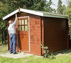 Neues Gartenhaus Streichen - arbeitsanleitung altes gartenhaus neu streichen