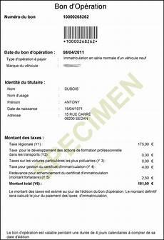 certificat provisoire d immatriculation ants mes papiers en images site immatriculation