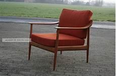 Knoll Antimott Sessel Chair 50er 60er Jahre Mid Century
