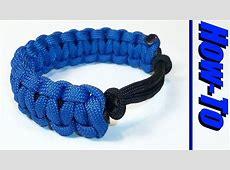 how to tie a slip knot bracelet