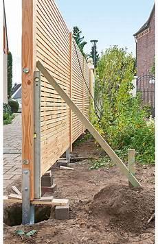 Sichtschutzzaun Holz Zaun Garten Garten Und