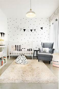 kinderzimmer gestalten ikea black and white geometric design baby room ikea style by