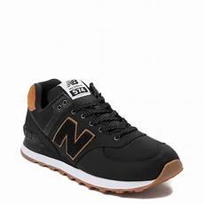 mens new balance 574 athletic shoe black journeys