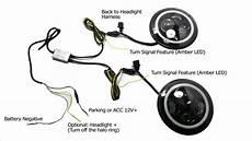 jeep wrangler cj 40w high power cree 7 inch led headlights