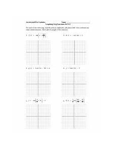 worksheet l inv trig funct accelerated pre calculus