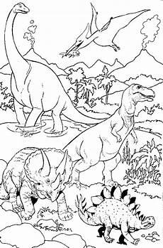Ausmalbilder Dinosaurier Zum Drucken Dinosaurier Malvorlagen Kostenlos Zum Ausdrucken