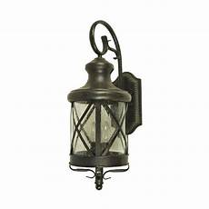 4 light outdoor wall lantern y decor taysom 4 light rubbed bronze outdoor wall