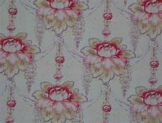 1890 Nouveau Floral Upholstery Cotton Decorator