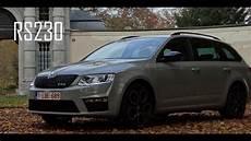 skoda octavia rs 230 combi skoda octavia combi rs 230 acceleration 0 100 km u 0 62 mph with in car sound