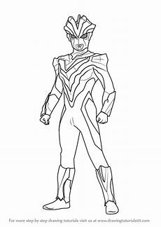 Learn How To Draw Ultraman Victory Ultraman Step By Step