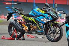 Modifikasi Cbr150r 2018 by Modifikasi Striping New Honda Cbr150r Shark Motoblast